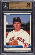 "Baseball Cards:Singles (1970-Now), 1984 Fleer Update Roger Clemens #U-27 BGS Pristine 10 - With Three ""10"" Subgrades! ..."