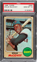 Baseball Cards:Singles (1960-1969), 1968 Topps Willie McCovey #290 PSA Gem Mint 10....