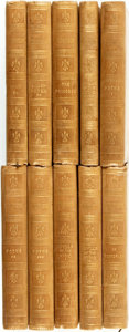 Books:Literature Pre-1900, Alfred Tennyson. The Works of Alfred Tennyson, Poet Laureate. London: Strahan and Co., 1870.... (Total: 10 Items)