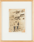 Autographs:Photos, 1941 Honus Wagner Signed Photograph....