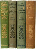 Books:Literature Pre-1900, Fiona Macleod [pseudonym of William Sharp]. Group of Four Titles.London: William Heinemann, [various dates].... (Total: 4 Items)