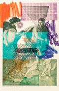 Post-War & Contemporary:Pop, Robert Rauschenberg (American, 1925-2008). Bellini #5, 1989.Intaglio in colors on Arches paper. 59 x 38-1/4 inches (149...