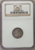 Bust Dimes, 1827 10C JR-4, R.2, VF30 NGC. NGC Census: (1/5). PCGS Population (1/3). Mintage: 1,300,000. ...