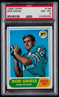 Football Cards:Singles (1960-1969), 1968 Topps Bob Griese #196 PSA NM-MT 8....
