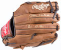 Baseball Collectibles:Others, Steve Carlton Signed Glove....