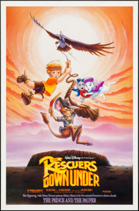 "The Rescuers Down Under & Other Lot (Buena Vista, 1990). One Sheet (27"" X 40"" & 27"" X 41"") D..."