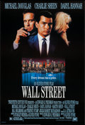"""Movie Posters:Crime, Wall Street & Other Lot (20th Century Fox, 1987). One Sheets(2) (26.75"""" X 39.5"""" & 27"""" X 41"""") SS & DS. Crime.. ...(Total: 2 Items)"""