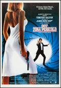 "Movie Posters:James Bond, The Living Daylights (United International Pictures, 1987). ItalianFoglio (39.5"" X 27.5""). James Bond.. ..."