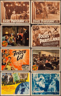 """Movie Posters:Comedy, Fashion Model & Others Lot (Monogram, 1945). Title Lobby Cards(3) & Lobby Cards (5) (11"""" X 14""""). Comedy.. ... (Total: 8Items)"""