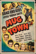 "Movie Posters:Crime, Mug Town (Universal, 1942). One Sheet (27"" X 41""). Crime.. ..."