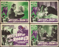"Movie Posters:Mystery, Mystery of Room 13 (Film Alliance, 1938). Lobby Card Set of 4 (11""X 14""). Mystery.. ... (Total: 4 Items)"