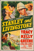 "Movie Posters:Adventure, Stanley and Livingstone (20th Century Fox, 1939). One Sheet (27"" X 41"") Style A. Adventure.. ..."