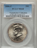 Kennedy Half Dollars, 2006-P 50C Kennedy MS68 PCGS. Ex: Vennekotter Collection. PCGSPopulation (16/0). Numismedia Wsl. Price...