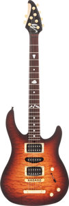 Musical Instruments:Electric Guitars, 1999 Brian Moore Customs C90 Sunburst Solid Body Electric Guitar,Serial # 61976....