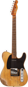 Musical Instruments:Electric Guitars, Danny Gatton's 1953 Fender Telecaster Blonde Solid Body ElectricGuitar, Serial # 4883....