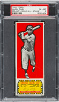 Baseball Cards:Singles (1950-1959), 1951 Topps Major League All-Stars Larry Doby PSA EX-MT 6 - Pop Two,None Higher! ...