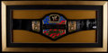 Miscellaneous Collectibles:General, Hulk Hogan Signed Replica Championship Belt....