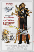 "Movie Posters:Action, Octopussy (MGM - UA, 1982). One Sheet (27"" X 41""). ""You seem to have this nasty habit of surviving."" And so James Bond has s..."