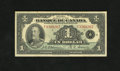 Canadian Currency: , BC-2 $1 1935 Canada ushered in its Small Size era in 1935 withEnglish and French only text notes. This French $1 has an ap...