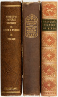 Books:Natural History Books & Prints, [Natural History]. Group of Three Books on Birds and Fish. Various publishers and dates. . ... (Total: 3 Items)
