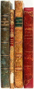 Books:Literature Pre-1900, [Poetry]. Four Volumes of Nineteenth-Century Poetry. Variouspublishers and dates. . ... (Total: 4 Items)