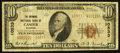 National Bank Notes:Wyoming, Casper, WY - $10 1929 Ty. 2 The Wyoming NB Ch. # 10533. ...