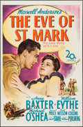 "Movie Posters:War, The Eve of St. Mark (20th Century Fox, 1944). One Sheet (27"" X41""). War.. ..."