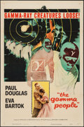 "Movie Posters:Science Fiction, The Gamma People (Columbia, 1956). One Sheet (27"" X 41""). ScienceFiction.. ..."