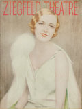 Miscellaneous:Ephemera, Ziegfeld Theatre Program for Show Boat. [New York: FlorenzZiegfeld, 1928]. ...