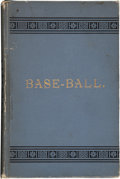 "Baseball Collectibles:Publications, 1888 ""Base-Ball: How to Become a Player"" Book by John MontgomeryWard...."