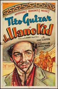 "The Llano Kid (Paramount, 1939). Other Company One Sheet (26.5"" X 40.5""). Western"