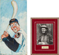 Baseball Collectibles:Others, 1966 Brooks Robinson & Emmett Kelly Pairing from The BrooksRobinson Collection....
