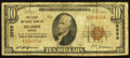National Bank Notes:Kansas, Mount Hope, KS - $10 1929 Ty. 1 The First NB Ch. # 5559. ...