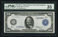 Fr. 1068 $50 1914 Federal Reserve Note PMG Choice Very Fine 35