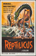 "Movie Posters:Science Fiction, Reptilicus (American International, 1961). One Sheet (27"" X 41""). Science Fiction.. ..."