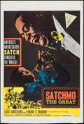"Movie Posters:Musical, Satchmo the Great (United Artists, 1957). Trimmed One Sheet (27"" X 39.5""). Musical.. ..."