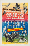 """Movie Posters:Sports, Sports Parade (Warner Brothers, 1948). Stock One Sheet (27"""" X 41""""). Sports.. ..."""