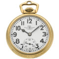 Timepieces:Pocket (post 1900), Ball 21 Jewel Open Face 999 B Pocket Watch. ...