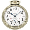 Timepieces:Pocket (post 1900), Zenith Extra 21 Jewel 24-Hour Rare Dial Extra RR 56 Pocket Watch....