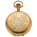 Timepieces:Pocket (post 1900), Waltham 21 Jewel Crescent Street Hunter's Case Pocket Watch. ...