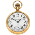 Timepieces:Pocket (pre 1900) , Illinois 24 Jewel Bunn Special Pocket Watch. ...