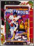 "Movie Posters:Sports, Super Bowl XXVII by Peter Max (Peter Max, 1993). Poster (26.5"" X 35""). Sports.. ..."