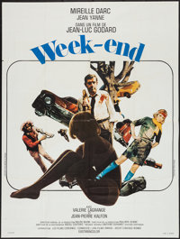 "Weekend (Athos Films, 1967). French Grande (47"" X 63""). Foreign"