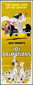 """Movie Posters:Animation, 101 Dalmatians & Other Lot (Buena Vista, R-1979). Insert (14"""" X 36"""") & Half Sheet (22"""" X 28""""). Animation.. ... (Total: 2 Items)"""