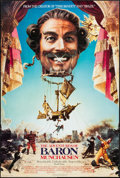 "Movie Posters:Adventure, The Adventures of Baron Munchausen & Other Lot (Columbia,1988). One Sheets (27"" X 40"" & 27"" X 41""). Adventure.. ...(Total: 2 Items)"