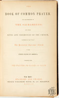 Books:Religion & Theology, [Religion & Theology]. The Book of Common Prayer and Administration of the Sacraments... New York: Stanford and ...