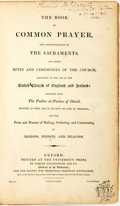 Books:Religion & Theology, [Religion & Theology]. The Book of Common Prayer and Administration of the Sacraments... Oxford: Printed at the ...