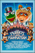 "Movie Posters:Comedy, The Muppets Take Manhattan & Other Lot (Tri-Star, 1984). One Sheets (2) (27"" X 41""). Comedy.. ... (Total: 2 Items)"