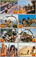 "Movie Posters:Fantasy, Creatures the World Forgot (Columbia, 1971). Lobby Card Set of 8 (11"" X 14""). Fantasy.. ... (Total: 8 Items)"