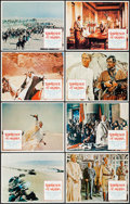 "Movie Posters:Academy Award Winners, Lawrence of Arabia (Columbia, R-1971). Lobby Card Set of 8 (11"" X14""). Academy Award Winners.. ... (Total: 8 Items)"